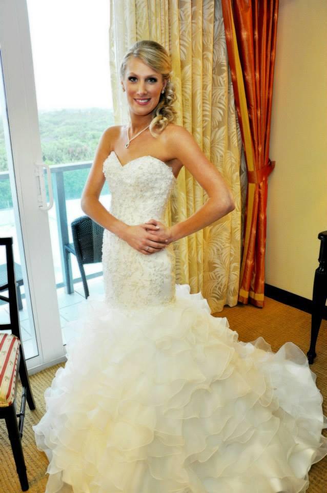 Jill Oscar Makeup Palm Beach Wedding